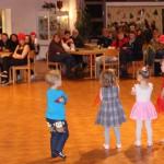 Auftritt der Mini Dancers im TGC