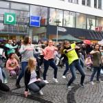 Flashmob am Verkaufsoffenem Sonntag in Elmshorn